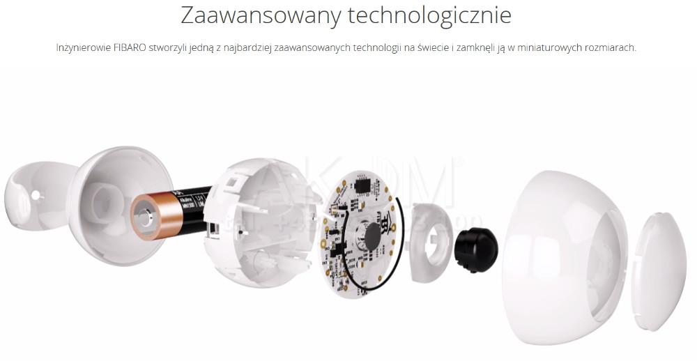 Fibaro Motion Sensor Fgms 001 Czujnik Ruchu Temperatury